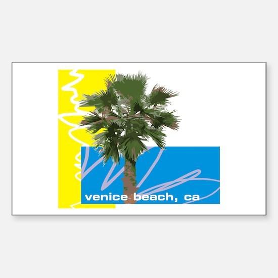 Venice Beach Sticker (Rectangle)