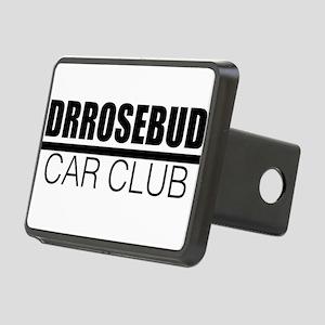 DRROSEBUD CAR CLUB Rectangular Hitch Cover