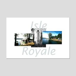 ABH Isle Royale Mini Poster Print