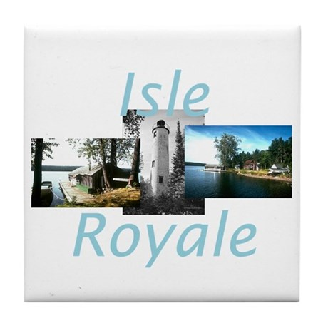 ABH Isle Royale Tile Coaster