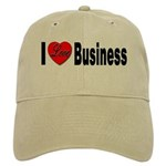 I Love Business Cap