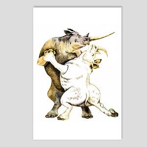 Rhinos Tango Postcards: 8pk