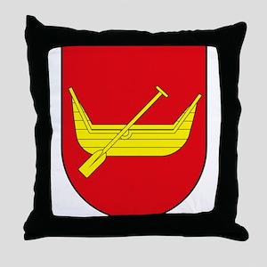 Lodz Coat of Arms Throw Pillow