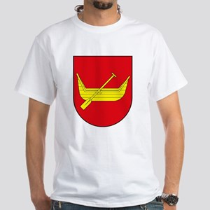 Lodz Coat of Arms White T-Shirt