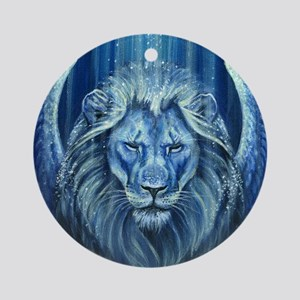 Winged Lion Ornament (Round)