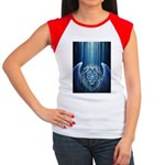 Winged Lion Women's Cap Sleeve T-Shirt
