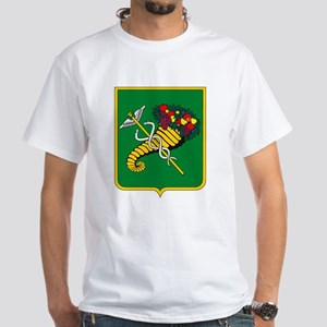 Khakov Coat of Arms White T-Shirt
