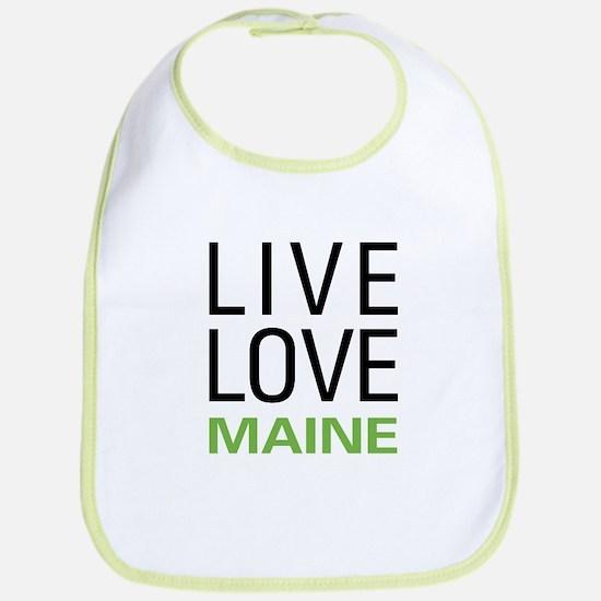 Live Love Maine Bib