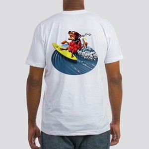 Surf Dog Fitted T-Shirt