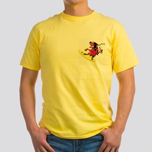 Surf Dog Yellow T-Shirt