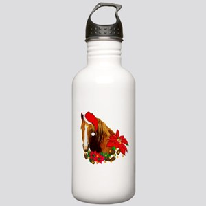 Christmas Horse Stainless Water Bottle 1.0L