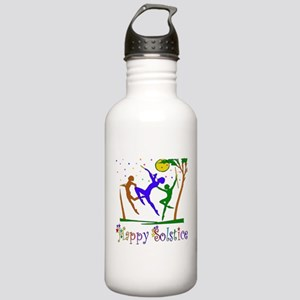 Winter Solstice Dancers Stainless Water Bottle 1.0