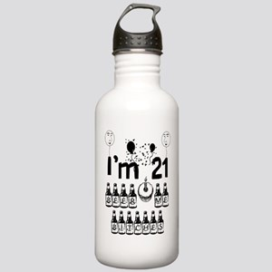 Beer Me Bitches Stainless Water Bottle 1.0L