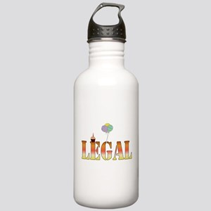 Finally Legal Birthday Stainless Water Bottle 1.0L