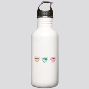 Cthulhu Loves You Stainless Water Bottle 1.0L
