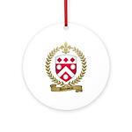 DUROSSEAU Family Crest Ornament (Round)
