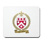 DUROSSEAU Family Crest Mousepad