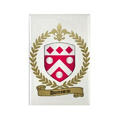 DUROSSEAU Family Crest Rectangle Magnet (100 pack)