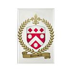 DUROSSEAU Family Crest Rectangle Magnet (100 pack)