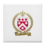 DUROSSEAU Family Crest Tile Coaster