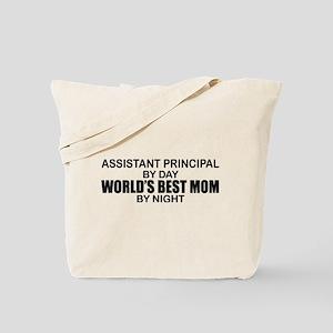 World's Best Mom - Asst Principal Tote Bag