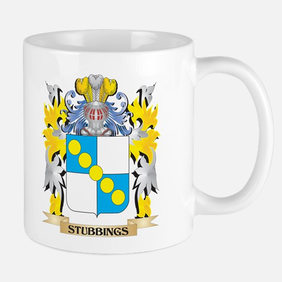 Stubbings Family Crest - Coat of Arms Mugs