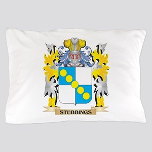Stubbings Family Crest - Coat of Arms Pillow Case