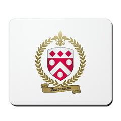 DUROUSSEAU Family Crest Mousepad