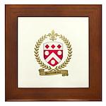 DUROUSSEAUX Family Crest Framed Tile