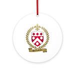 DUROUSSEAUX Family Crest Ornament (Round)