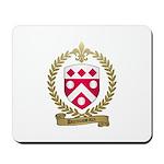 DUROUSSEAUX Family Crest Mousepad