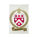 DUROUSSEAUX Family Crest Rectangle Magnet