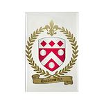 DUROUSSEAUX Family Crest Rectangle Magnet (100 pac