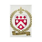 DUROUSSEAUX Family Crest Rectangle Magnet (10 pack