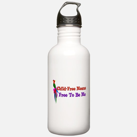 Child-Free To Be Me Water Bottle