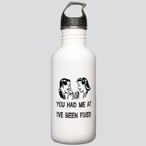 Child-Free Turn On Stainless Water Bottle 1.0L