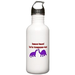 Overbreeding Dinosaurs Water Bottle