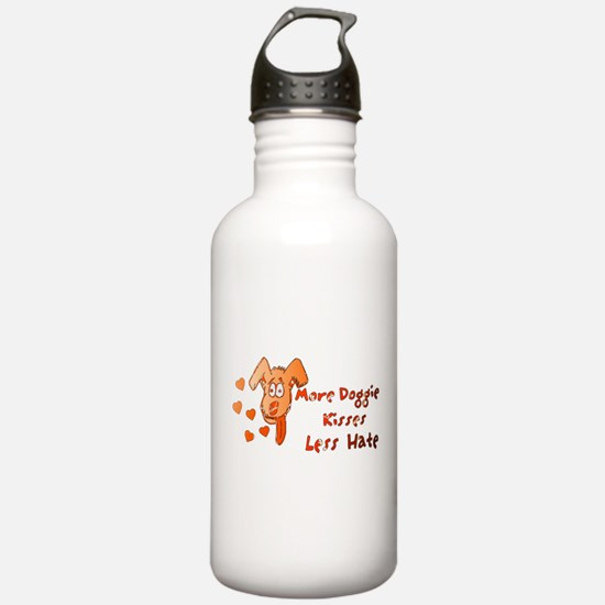 More Doggie Kisses Water Bottle