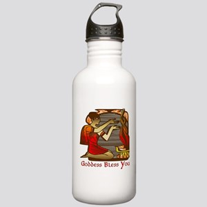 Goddess Bless You Stainless Water Bottle 1.0L