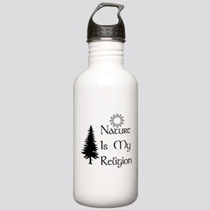 Nature Is My Religion Stainless Water Bottle 1.0L