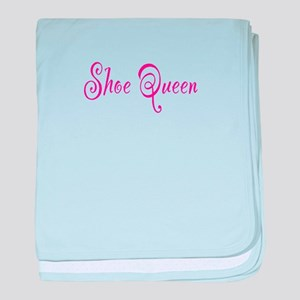 Shoe Queen baby blanket