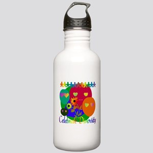 Celebrate Diversity Stainless Water Bottle 1.0L