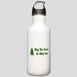 May The Forest Be With You Stainless Water Bottle