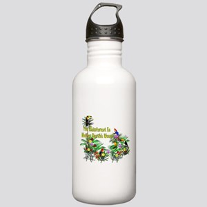 Save The Rainforest Stainless Water Bottle 1.0L