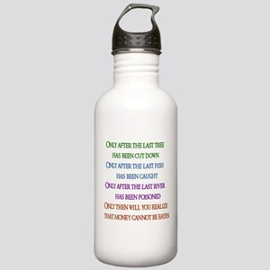 Rainbow Planet Quote Stainless Water Bottle 1.0L