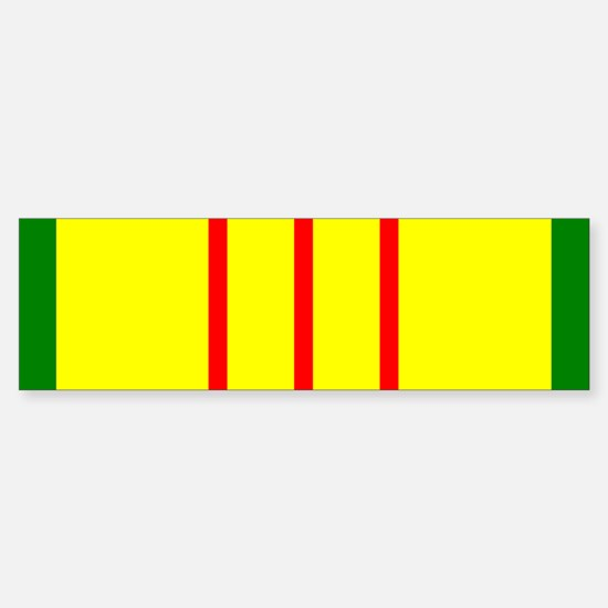 Vietnam Veteran Ribbon Bumper Bumper Bumper Sticker