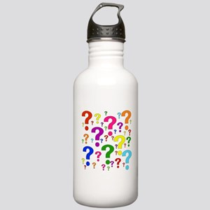Rainbow Question Marks Stainless Water Bottle 1.0L