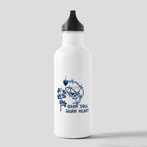 Dark Soul Skull Stainless Water Bottle 1.0L