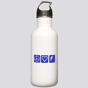 Peace Love Hockey Stainless Water Bottle 1.0L