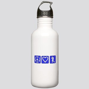 Peace Love Football Stainless Water Bottle 1.0L